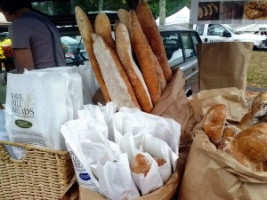 Wave Hill Breads at the New Canaan Farmers' Market.