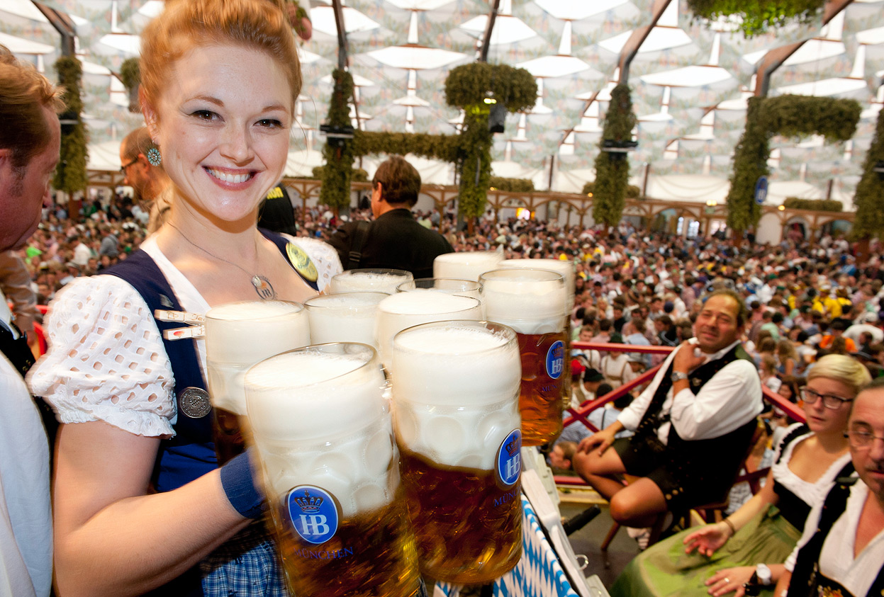 Oktoberfest celebration in Munich.