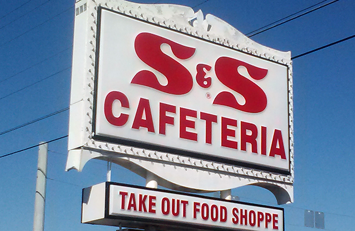 S & S sign small