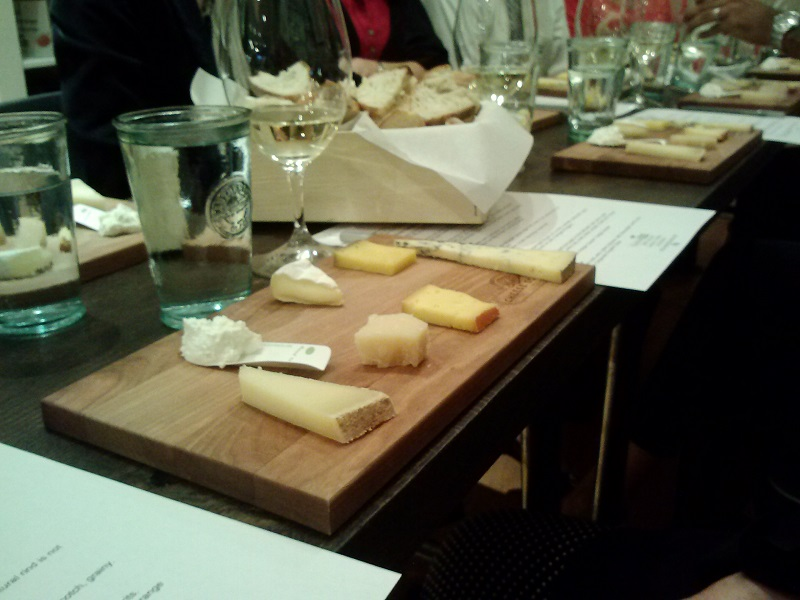 The cheese board at Cheese 101 - Copy