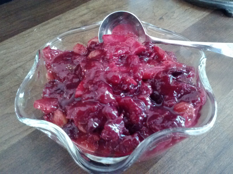 Cranberry Orange Chutney - 800 dpi