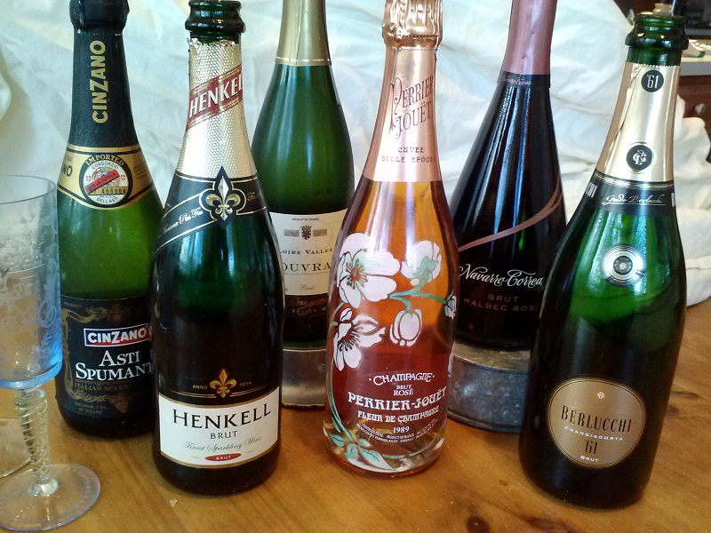 Sparkling wine bottles - Copy