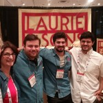 Laurie and her sons