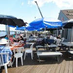 Eat on the dock at SoNo Seaport