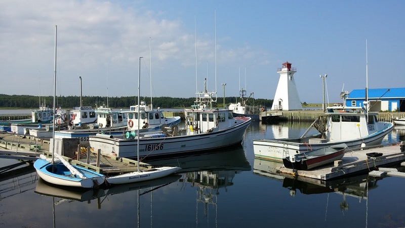 Mabou Harbor, Cape Breton Island