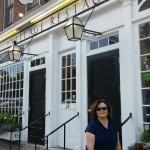 Marsha at The Village restaurant - Copy