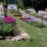 Display gardens at White Flower Farm