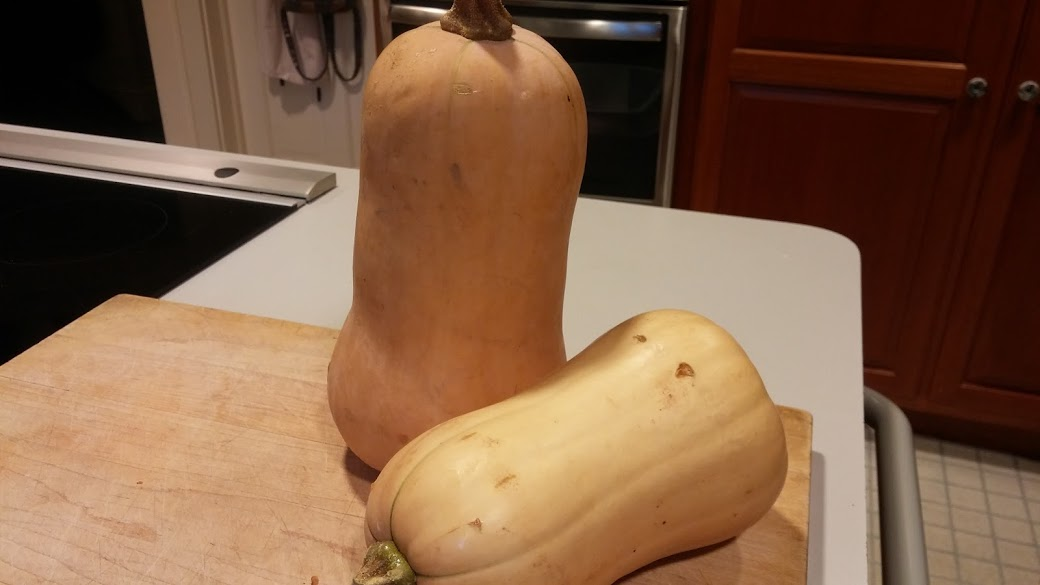 Butternut squash for soup