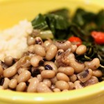 Black-eyed peas and greens - Copy