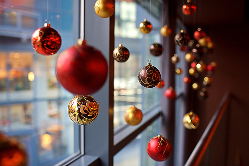 Christmas decorations in restaurants - Сhristmas day special