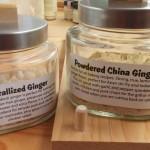 Ginger for gingerbread