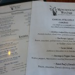 Lunch specials and menu at Riverview Bistro