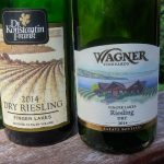A pair of Finger Lakes dry riesling