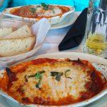 Chicken Parmesan at Italia