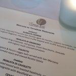 The tasting menu at TerraSole