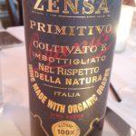 Zensa Primitivo exclusivlly at TerraSole