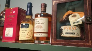 Aged rums at Fountainhead