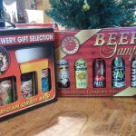 Craft beer samplers at Stew's