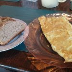 Omelette and house made breads