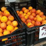 Blood Oranges at the farmer's market