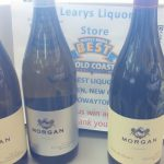 Morgan wines at Leary's in Darien