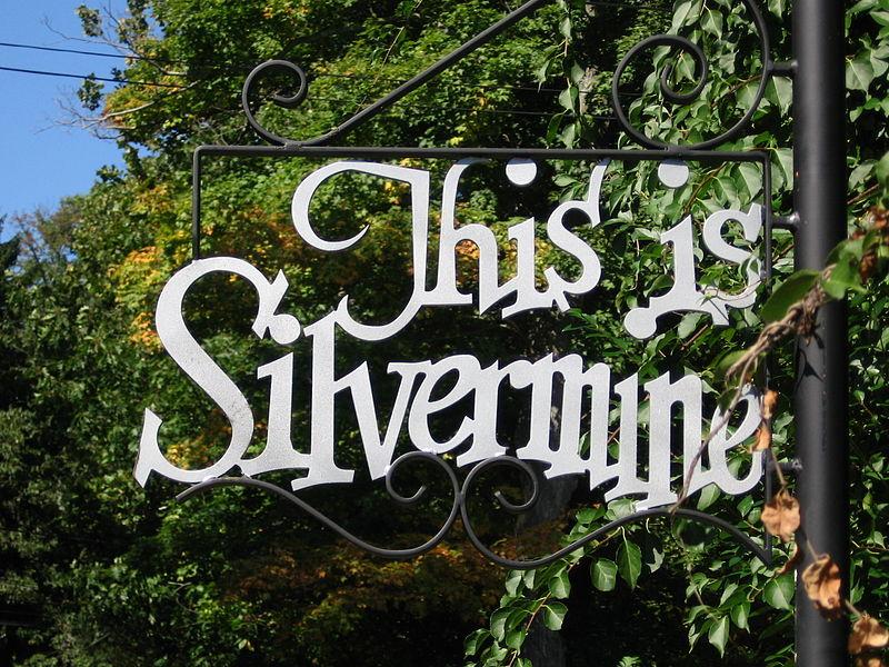 Silvermine Sign