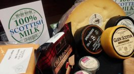 Cheeses from Scotland