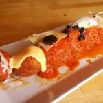 The Bar Sugo meatball sampler
