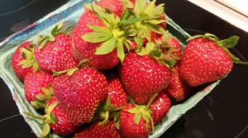 Local Strawberries in season'