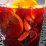 Red wine and citrus, a winning combo.