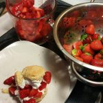 Strawberry shortcake fixins