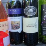 The four recommended wines