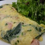 Plump omelette at Rive Bistro