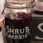 Shrub cherries at Hudson Standard