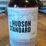 The Hudson Standard peach lavander shrub