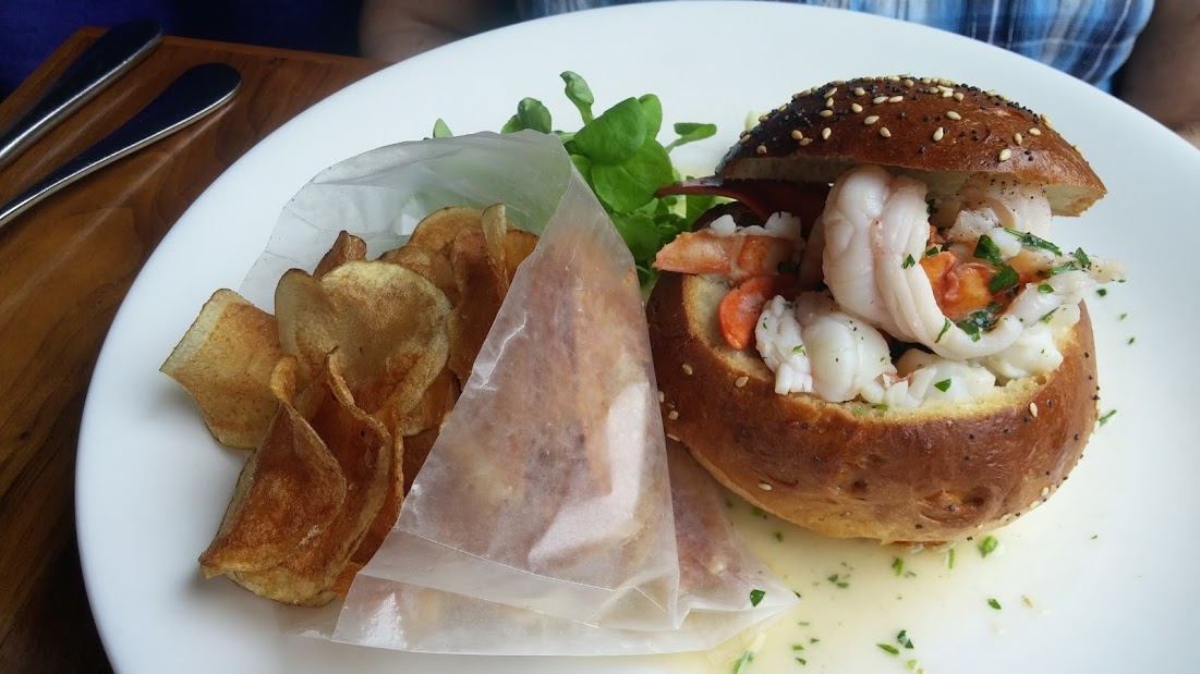 Lobster roll at Match