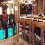Americana wines at the tasting room