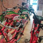 Electric bikes at Pedigo