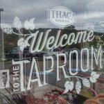 The Ithaca Beer tasting room.