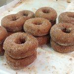 Cider donuts at Beardsley