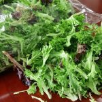 Fresh, crisp salad mix ready to eat.