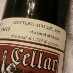 Heitz 1978 Cabernet total bottling