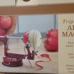 An old-fashioned apple peeler
