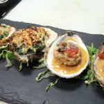 Oysters Rockefeller and Masa Fried Oysters at Washington Prime