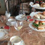 Set for tea at Caramor