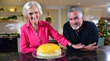 Mary Berry and Paul Hollywood, hosts of the show.