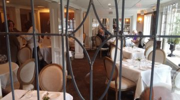 The Roger Sherman dining room