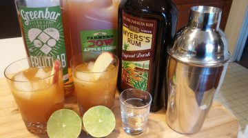 Ginger apple cider