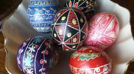 Marsha's Ukranian eggs