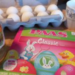 Ready to color eggs